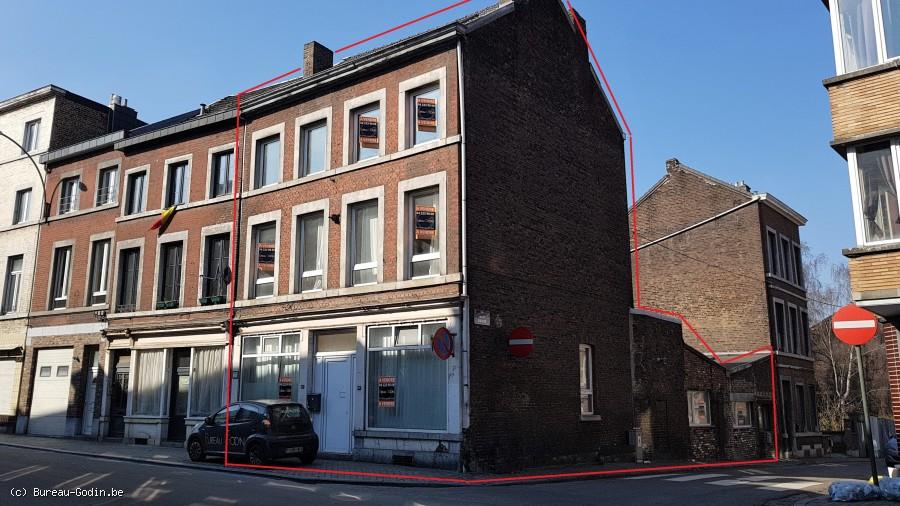 Bureau godin maison d habitation divisé en kots à liège