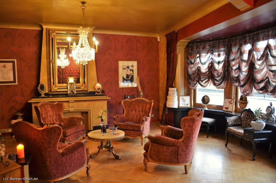Bureau Godin Maison A Vendre Rue De Herve : Bureau godin immeuble avec fond de commerce à usage de salon de