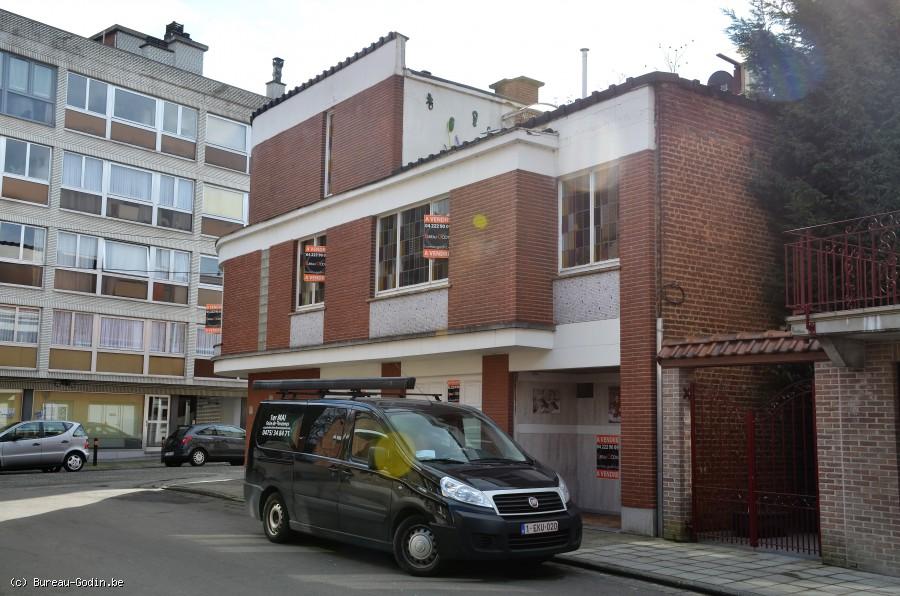 Home Notre Foyer Marcinelle : Bureau godin maison de type bel étage à charleroi